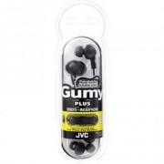 JVC Gumy Plus In-Ear Hörlurar W/Mic - HA-FR6 - Svart