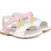 Sandale Fete Bibi Baby Birk Roz-Curcubeu 22 EU