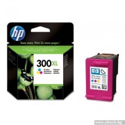 HP 300XL High Yield, Tri-color Ink Cartridge (CC644EE)
