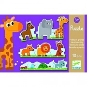 Djeco Small and Big Puzzle
