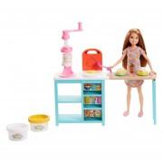 Barbie Stacie Estación De Desayuno