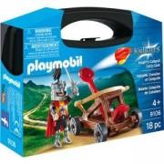 Комплект Плеймобил 9106 - Преносимо куфарче рицарски катапулт, Playmobil, 2900271