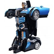 PLAY DESIGN (multi colour) Converting Car To Robot Transformer For Kids