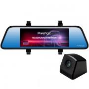 Car Video Recorder PRESTIGIO RoadRunner MIRROR Front FHD 1920x108030fps Rear VGA640x48030fps, 6.86 inch screen, MSC8328P, 4 MP CMOS GC2023 image sensor, 12 MP camera, 120 Viewing Angle, Micro US