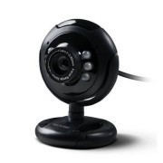 Multilaser Webcam Multilaser Plug e Play 16Mp NighTVision Microfone USB Preto - WC045 WC045