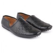 Streamline present Men's Casual Black Synthetic leather Sandal's mojdi Casuals For Men