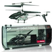 Model King Gyro 3.5Ch Convenient Charging Controller, Radio Control Helicopter Indoor Japanese Commentary Papers (Black)