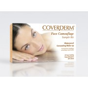 Coverderm Face Camouflage Sample Kit -