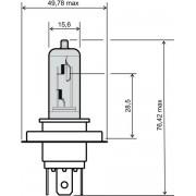 BEC FAR H4 - 12V 35/35W (3 picioare)