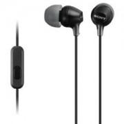 Слушалки Sony Headset MDR-EX15AP black - MDREX15APB.CE7
