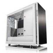 Кутия Fractal Design Define R6 USB-C White – TG, mATX, ATX, ITX, EATX, USB 3.1 Gen 2 Type-C, черна, без захранване