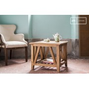 Table basse vintage carrée Cadynam