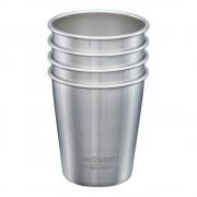 Klean Kanteen Steel Cup Mugg 296 ml 4-pack Borstat stål