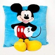 Disney Ultra Soft Mickey Mouse Cushion Imported Stuffed Plush 40cm(Blue)