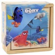 Puzzle de lemn BRIMAREX Finding Dory 4 piese
