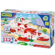 Kid Cars 3D - spitalul cu pista 4 8m 53330 Wader