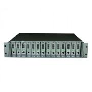 TL-MC1400 rack ház 14 médiakonverternek