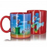 Super Mario - Level Heat Change Mug Red