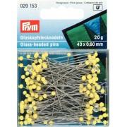 PRYM üvegfejű gombostű, 43mm, 20g, 029153