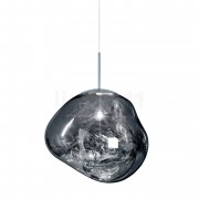Tom Dixon Melt Suspension, chrome, 50 cm