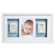 Babyprints trostruki zidni ram, Beli