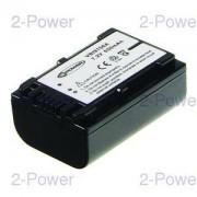 2-Power Videokamera Batteri Sony 6.8v 980mAh (NP-FV50)