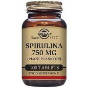 Solgar Spirulina 750 mg 100 Tablets