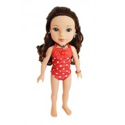 My Brittany's Red Polka Dot Swimsuit for American Girl Dolls Wellie Wishers