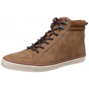 Call It Spring Men's Linford Light Brown Sneakers - 11 UK/India (45 EU) (12US)