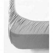Jersey gumis lepedő - szürke