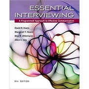 Essential Interviewing: A Programmed Approach to Effective Communication, Paperback/David R. Evans