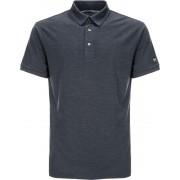 super.natural M's Essential Poloshirt Navy Blazer Melange XL 2019 Yogakläder