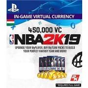 450,000 VC NBA 2K19 - PS4 HU Digital