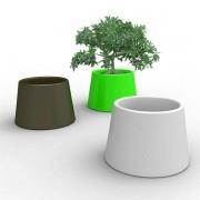 SARDANA, un grand vase d'extérieur rond, de qualité : ambiance méditerranéenne garantie ! - déco et design