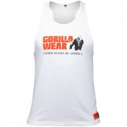 Gorilla Wear Classic Tank Top White - L