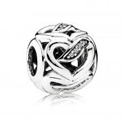 Pandora rubans de charme d'amour - 792046CZ