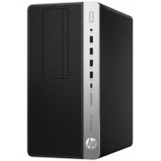 Sistem PC HP ProDesk 600 G3 MT (Procesor Intel Core i5-7500 (6M Cache, up to 3.80 GHz), Kaby Lake, 8GB, 256GB SSD, Intel® HD Graphics 630, Win10 Pro, Mouse + Tastatura)