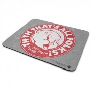 That's Write Porky Pig - That's All Folks! Mouse Pad, Mouse Pad