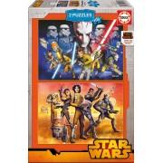 Puzzle Educa - Star Wars Rebels, 2x100 piese (16169)