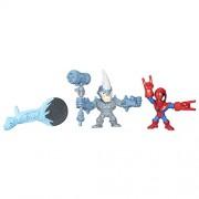 Marvel Super Hero Mashers Micro Spider-Man vs. Marvel's Rhino 2-Pack