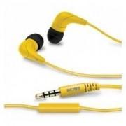 ACME EUROPE Słuchawki z mikrofonem Acme HE15Y Groovy żółte