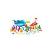 Polly Pocket Super Conjunto Diversão na Praia - Mattel