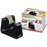 tesa SE tesafilm® Tischabroller Smart ecoLogo® + 1 Rolle tesafilm® Eco & Clear