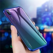 Bakeey Plating Shockproof Ultra Thin Soft TPU Back Cover Protective Case for Huawei P20 Pro