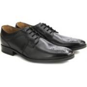 Clarks Kalden Edge Black Leather lace up For Men(Black)
