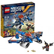 Nexo Knights Lego Year 2016 Nexo Knights Series Set #70320 - AARON FOX'S AERO-STRIKER V2 with Aaron Fox Aaron Bot and Ash Attacker Minifigures