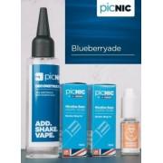 Lichid Tigara Electronica Premium Jac Vapour Blueberryade 70ml, Nicotina 5,1mg/ml, 80%VG 20%PG, Fabricat in UK, Pachet DiY
