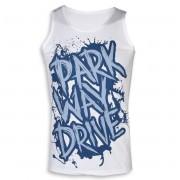 Maieu bărbătesc Parkway Drive - Blue Logo - White- KINGS ROAD - 20000564