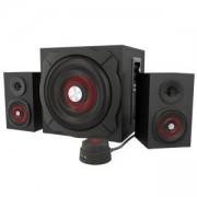 Звукова система Genesis Helium 600, 60W RMS, Wired Remote Control, Black-Red, NCS-0856