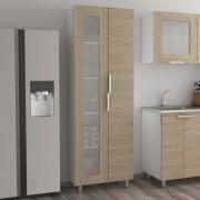 Mueble TuHome Alacena Fendi - Rovere / Blanco